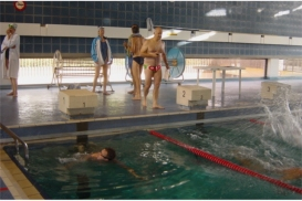 Le d cathlon moderne paris reportage photos de la for Piscine emile anthoine